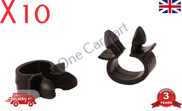 Prime 10X Mercedes Pipe Clamp Wires Wiring Loom Harness Clip Holder 7703079070 Wiring 101 Olytiaxxcnl