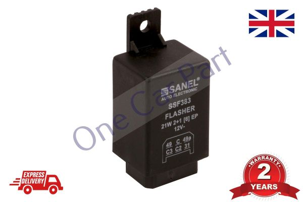 TRACTOR 12V 6 PIN FLASHER INDICATOR RELAY UNIT MASSEY FERGUSON FORD OE  QUALITY